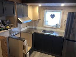 croft tiny home kitchen built by finished right contracting mastercraftsman steve zaleschuk