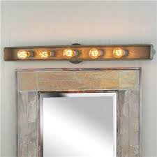 rustic bathroom lighting. galvanized rustic vanity light bathroom lighting and shades of