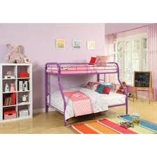 bunk beds for kids twin over full.  Full ACME Furniture Tritan Twin Over Full Metal Kids Bunk Bed And Beds For