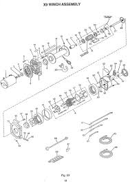superwinch x9 assembly first series goodwinch superwinch 3500 wiring diagram at Wiring Diagram X9 Superwinch