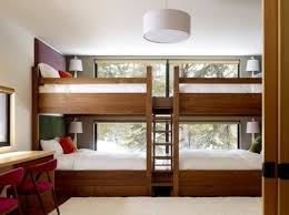 Cool Double Bunker Bed Set With Pull Out Beds At The Bottom Create A Gorgeous Themes For Bedrooms Set Property