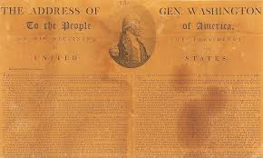 president george washington warns against political divisiveness