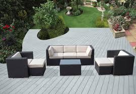 Amazon Ohana 8 Piece Outdoor Wicker Patio Furniture Sectional