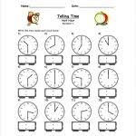 Clock Template Worksheet Analogue Clock Worksheet Maker Make Your ...