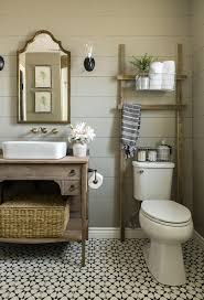 bathroom diy ideas.  Bathroom Rustic Wooden Bathroom Storage Ladder For Diy Ideas B