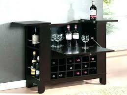 black wine cabinet. Bar And Wine Cabinet Home Cabinets Table With Rack Black Portable .
