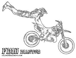 4 brave dirt bike coloring pages ngbasic