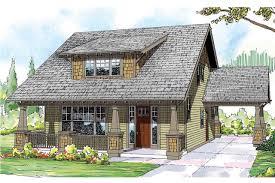 Craftsman House Plans With Detached Garage