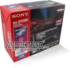 sony mex dv mexdv in dash am fm dvd cd sacd mp product sony mex dv2000 how to install a car stereo