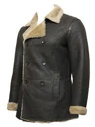 Raf Jacket Size Chart Mens Raf Sheepskin Leather Aviator Flying Jacketsbrand New