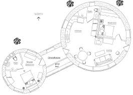 plans two roundhouses with greenhouse to enlarge green house project floor plans
