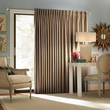 eclipse blackout thermal blackout patio door 84 in l curtain panel in wheat