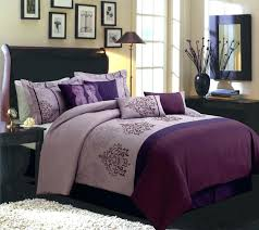 purple king bedding chic light and dark purple king size bedding set plus skirt also accent