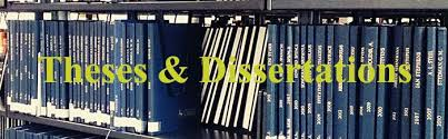theses and dissertations library and archives morehead state  theses and dissertations