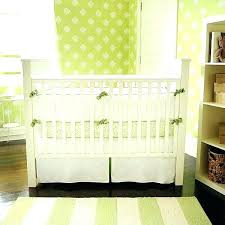 green baby bedding green crib bedding nursery new arrivals inc white pique with trim set mint green baby bedding