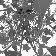 porta romana ivy shadow chandelier forest gold 3d model max obj 3ds fbx mtl