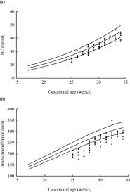 Fetal Cerebellum Measurement Chart Fetal Transverse Cerebellar Diameter Measurements In Normal
