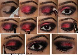 Vítejte Tu Moda Kosmetika Cz Líčení červeno černé Líčení