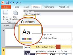 Create A Poster In Powerpoint Change The Size Of Your Slides Office Support