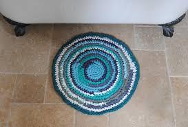 crochet t shirt rug pattern