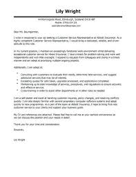 Customer Service Representative Cover Letter Template Survey