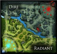 map of dota 2 from dota 2 wiki 7
