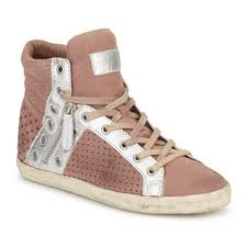 Ash Nevada Studded Boots Women Trainers Ash Subway Pink