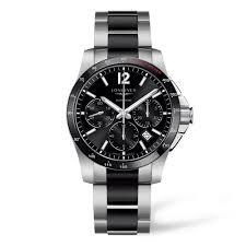 longines conquest ceramic automatic chronograph men s watch longines conquest ceramic automatic chronograph men s watch