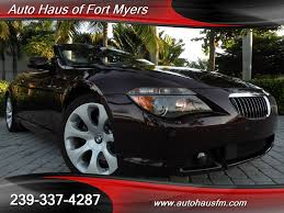Coupe Series bmw 645 convertible : 2006 BMW 650i Convertible Ft Myers FL for sale in Fort Myers, FL ...