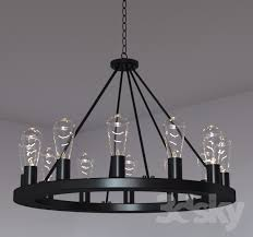 interior 3d models ceiling light lacey wide round black chandelier typical qualified 2 round