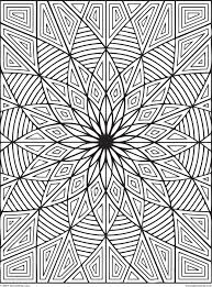 Design Patterns To Color Difficult Geometric Design Coloring Pages Rectangles Page