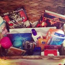 Birthday gift: 13 year old survival kit. A fun gift every 13 year old girl  would need for womanhood :) (except the jerky!