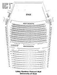 Kingsbury Hall Utah Seating Chart Kingsbury Hall Utah Seating Chart Elcho Table
