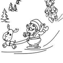 Small Picture Rudolph the Red Nosed Reindeer Free coloring pages and song