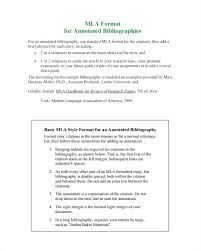 Annotated Bibliography Format Template For Websites Apa Images Of