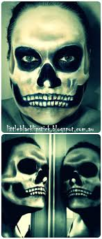 skull makeup tutorial half skeleton makeup you