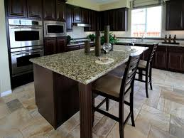 Kitchen Remodeling Black Brown Kitchen Cabinets Granite