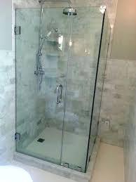 frameless glass shower door shower door frameless shower door seal for 1 4 glass