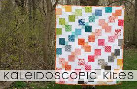 Kaleidoscopic Kites Free Quilt Pattern ~ Fresh Lemons Modern Quilts & Kaleidoscopic Kites Free Quilt Pattern Adamdwight.com