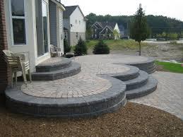 Wonderful Backyard Raised Patio Ideas Elevated Designs History Of Brick Paver On Design