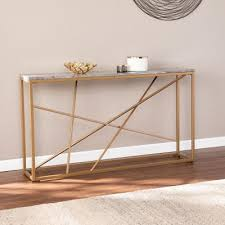 gold console tables accent tables