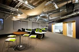 industrial modern office. Modern Office Design Of The Skype Headquarters In Palo Alto, California. Industrial Chic Decor Ideas I