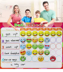 To Do List Charts Oem Magnetic Chores Chart Dry Erase Board Wall Sticker Kids Weekly