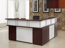 office counter design. Office Counter Desk. Image Of: L Shaped Reception Desk Dimensions Design S