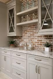 modern bar backsplash. Beautiful Backsplash Modern Cabinets With Dura Supreme  Highland Interior Brick Builtin  Bookshelf Carpet High Ceiling MS Calacatta Gold Marble Intended Bar Backsplash S