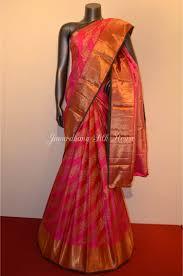 Designer Kanjeevaram Sarees Beautiful Kanjeevaram Silk Saree With Elephant Designer Border