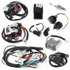 high quality wiring harness cdi buy cheap wiring harness cdi lots 150cc electrics stator wire harness loom magneto coil cdi rectifier solenoid mainland