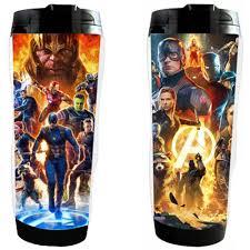 【Ready Stock】<b>New</b> Sports <b>Cup</b> The Avengers <b>Double</b>-<b>Layer Cup</b> ...