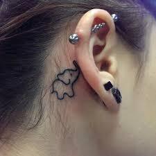 Top 15 Roztomilé A Drobné Ušní Tetování Se Snímky Styly V životě
