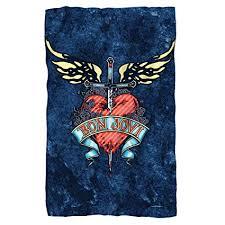 Bon Jovi Throw Blanket